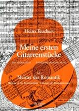 Heinz Teuchert - Meine ersten Gitarrenstucke - Heft 4 : Meister der Romantik - Partition - di-arezzo.fr