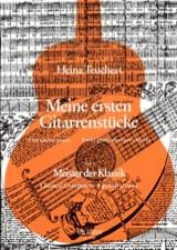 Heinz Teuchert - Meine ersten Gitarrenstucke - Heft 1 : Meister der Klassik - Partition - di-arezzo.fr