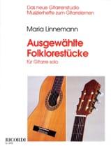 Ausgewählte Folklorestücke Maria Linnemann Partition laflutedepan.com
