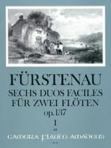 Anton Bernhard Fürstenau - 6 Duos faciles op.137 - Volume 1 - Partition - di-arezzo.fr
