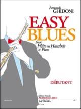 Easy Blues Armando Ghidoni Partition laflutedepan.com
