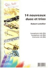 14 Nouveaux duos et trios Robert Letellier Partition laflutedepan.com