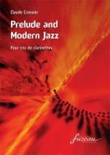 Prelude and Modern Jazz Claude Crousier Partition laflutedepan.com