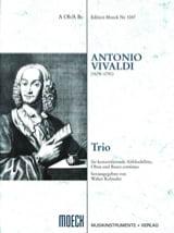 Trio –Flauto dolce Oboe BC - Partitur + 3 Stimmen laflutedepan.com