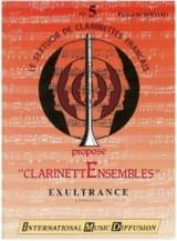Exultrance Patrice Sciortino Partition Clarinette - laflutedepan.com
