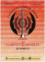 Quadrille - Clarinettes MOZART Partition Clarinette - laflutedepan.com