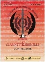 Contredanse - Clarinettes MOZART Partition laflutedepan.com