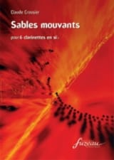 Sables mouvants - Claude Crousier - Partition - laflutedepan.com