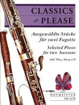 - Classics To Please - 2 Fagotte - Sheet Music - di-arezzo.com