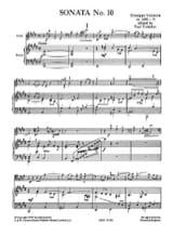 Giuseppe Valentini - Sonata n° 10 - Partition - di-arezzo.fr