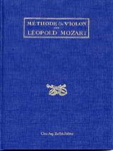 Méthode de violon Leopold Mozart Partition Violon - laflutedepan.com