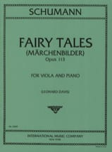SCHUMANN - Märchenbilder op. 113 - Sheet Music - di-arezzo.co.uk