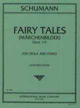 SCHUMANN - Märchenbilder op. 113 - Partitura - di-arezzo.es