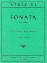 Francesco Maria Veracini - Sonata in E minor - Partition - di-arezzo.fr