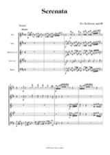 Serenata op. 25 - Bläserquintett - Partitur + Stimmen laflutedepan