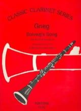 Solveig's Song - Clarinet Edvard Grieg Partition laflutedepan.com