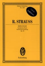 Richard Strauss - Don Juan - Partition - di-arezzo.fr