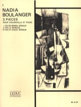 Piece N° 1 en Mi Bémol Mineur Nadia Boulanger laflutedepan.com