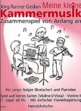 Meine kleine Kammermusik - Jörg Rainer Gedan - laflutedepan.com