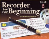 Recorder from the Beginning - Book 2 John Pitts laflutedepan.com