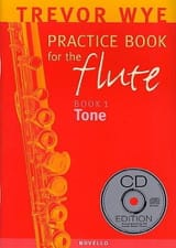 Practice book for the flute Volume 1 – Tone - laflutedepan.com