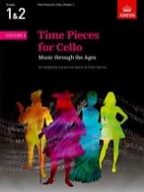 Time Pieces for Cello, Volume 1 - laflutedepan.com