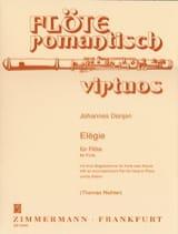 Elégie Johannes Donjon Partition Flûte traversière - laflutedepan.com