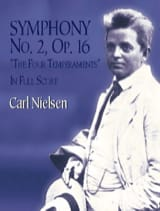 Carl Nielsen - Symphonie N° 2 Op.16 The Four Temperaments - Partition - di-arezzo.fr