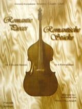 Romantic pieces - 4 Double basses Franz Pillinger laflutedepan.com