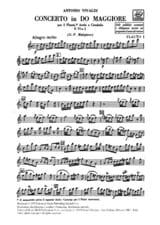 Antonio Vivaldi - Concerto en Do Maj. - F. 6 n° 2 - Matériel - Partition - di-arezzo.fr