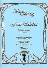 SCHUBERT - Waltz nobles op. 77 - D. 939 - Streichquartett - Partitur Stimmen - Sheet Music - di-arezzo.co.uk