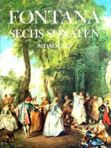 6 Sonates Giovanni Battista Fontana Partition laflutedepan.com