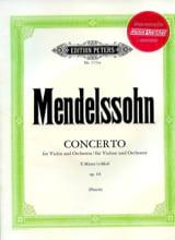 Concerto Violon op. 64 en mi mineur MENDELSSOHN laflutedepan.com