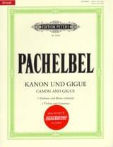 Kanon und Gigue Johann Pachelbel Partition Violon - laflutedepan.com