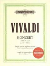 Concerto Violon en la mineur op. 3 n° 6 RV 356 laflutedepan.com
