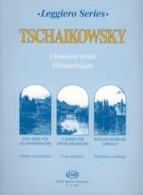 TCHAIKOVSKY - 悲しい/ユーモラスな歌 - 弦オーチ。ジュニア - 楽譜 - di-arezzo.jp