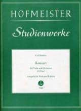 Carl Stamitz - Konzert D-Dur - Partition - di-arezzo.fr