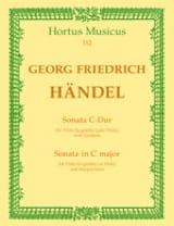 HAENDEL - Sonata C Hard - Viola da gamba o. Viola - Sheet Music - di-arezzo.com