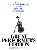 Concerto in D Carl Stamitz Partition Alto - laflutedepan.com