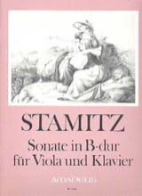 Carl Stamitz - B-Durのソナタ - ヴィオラとクラヴィエ - 楽譜 - di-arezzo.jp