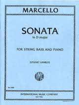 Sonate in D major – String Bass Benedetto Marcello laflutedepan.com