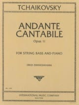 Andante Cantabile Op. 11 Piotr Illitch Tchaïkovski laflutedepan.com