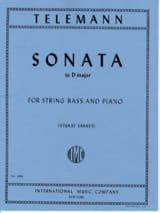Sonata in D major – String bass laflutedepan.com