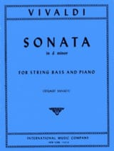 Sonate in d minor – String bass - Antonio Vivaldi - laflutedepan.com