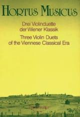 3 Violinduette der Wiener Klassik Partition laflutedepan.com