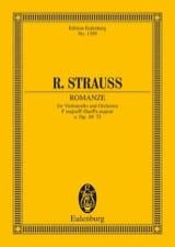 Romanze F-Dur O. Op. Av 75 Richard Strauss Partition laflutedepan.com