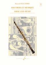 Bernard Delcambre - Hautbois et Musique - Volume 1 - Partition - di-arezzo.fr
