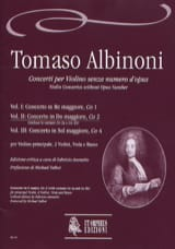 Tomaso Albinoni - Concerto In C Maj. - Co2 - Vol.2 - Sheet Music - di-arezzo.com