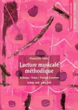 Danielle Taitz - Lecture Musicale Méthodique Volume 1 - Partition - di-arezzo.fr