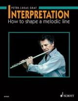 Peter-Lukas Graf - Interpretation in English - Flute - Sheet Music - di-arezzo.co.uk